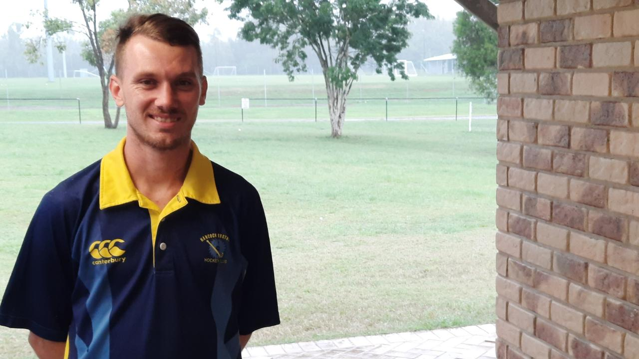Hancocks A-Grade hockey player Nathan Smith is back after a year off. Picture: David Lems
