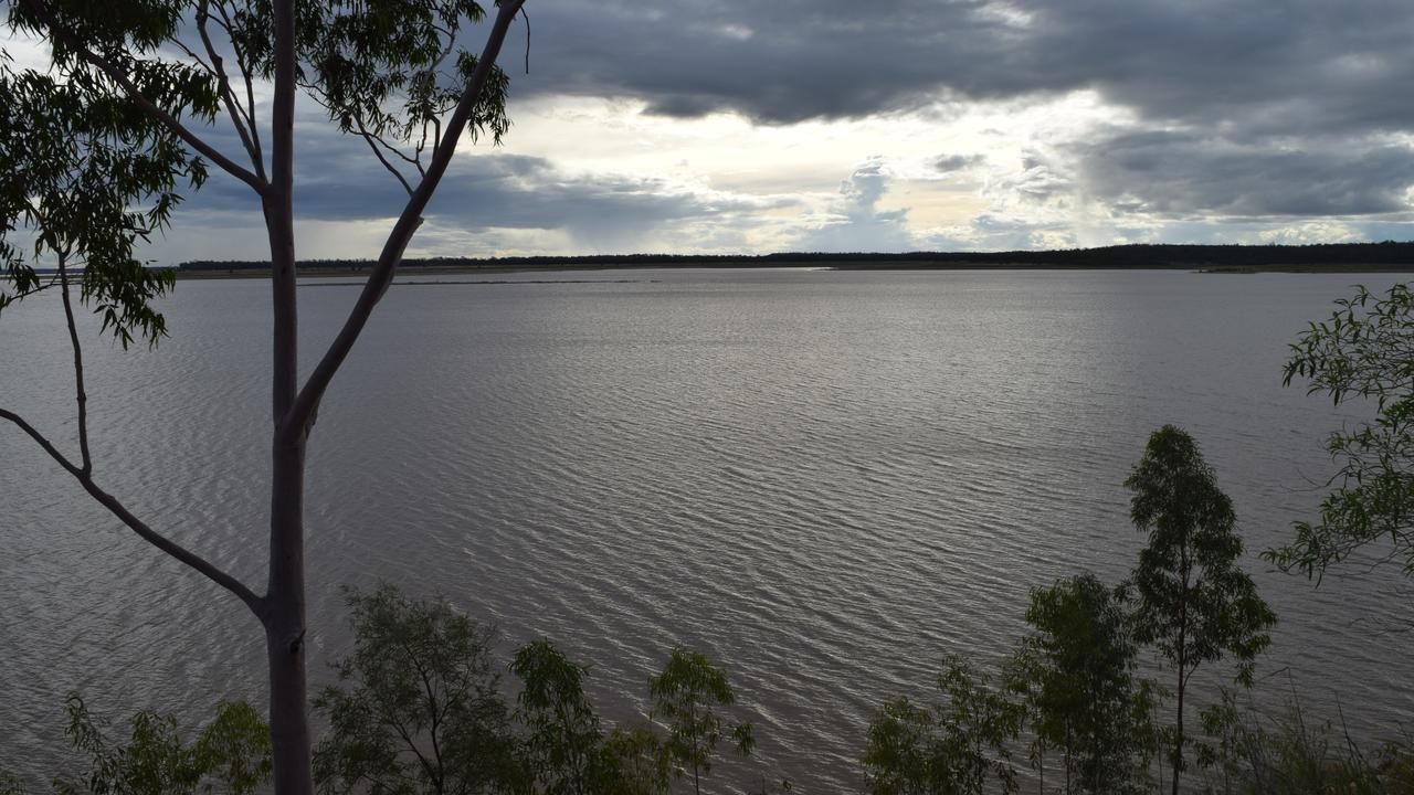 Fairbairn Dam, Emerald, was sitting at 21 per cent capacity on March 22, 2021. Photo: Kristen Booth