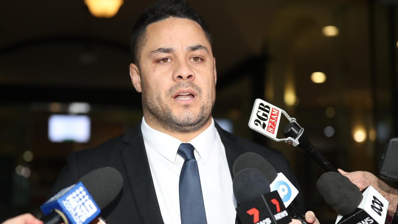 A bloody video helped convict Jarryd Hayne of sexual assault, but he now intends to appeal. Picture: NCA NewsWire / Christian Gilles