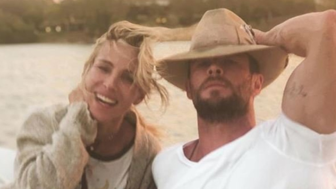 Elsa and Chris are often sharing snaps enjoying the laid-back lifestyle of Byron Bay. Now, they've made the move to Sydney. Picture: Instagram