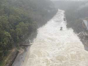 Dam spilling one Sydney Harbour a day
