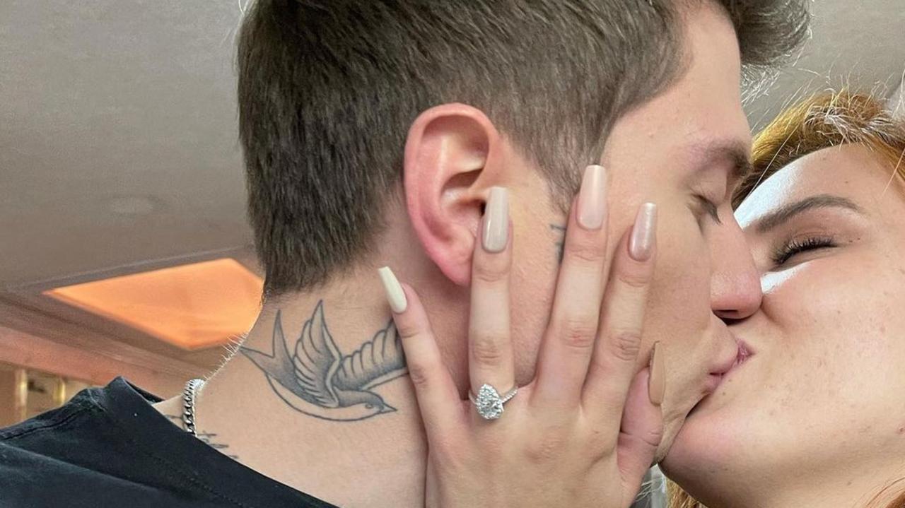 Former Disney star Bella Thorne announces engagement to boyfriend Benjamin Mascolo
