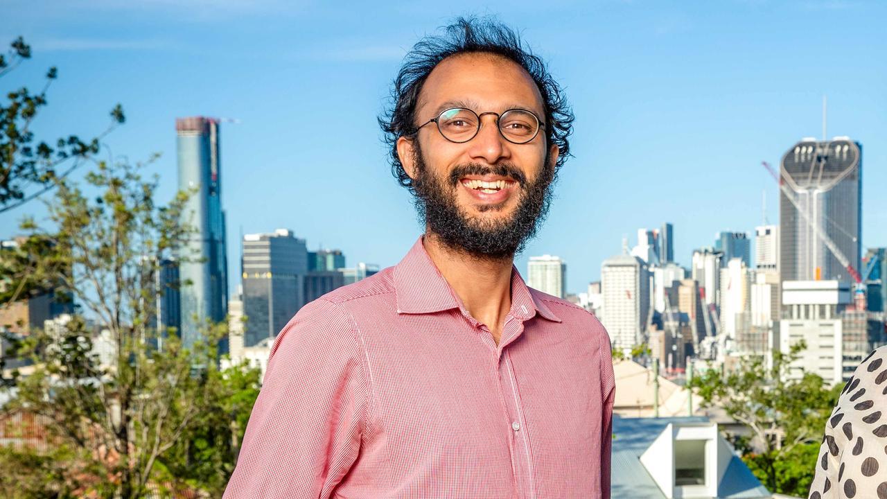 Brisbane City Councillor for The Gabba Ward Jonathan Sri. Picture: Richard Walker