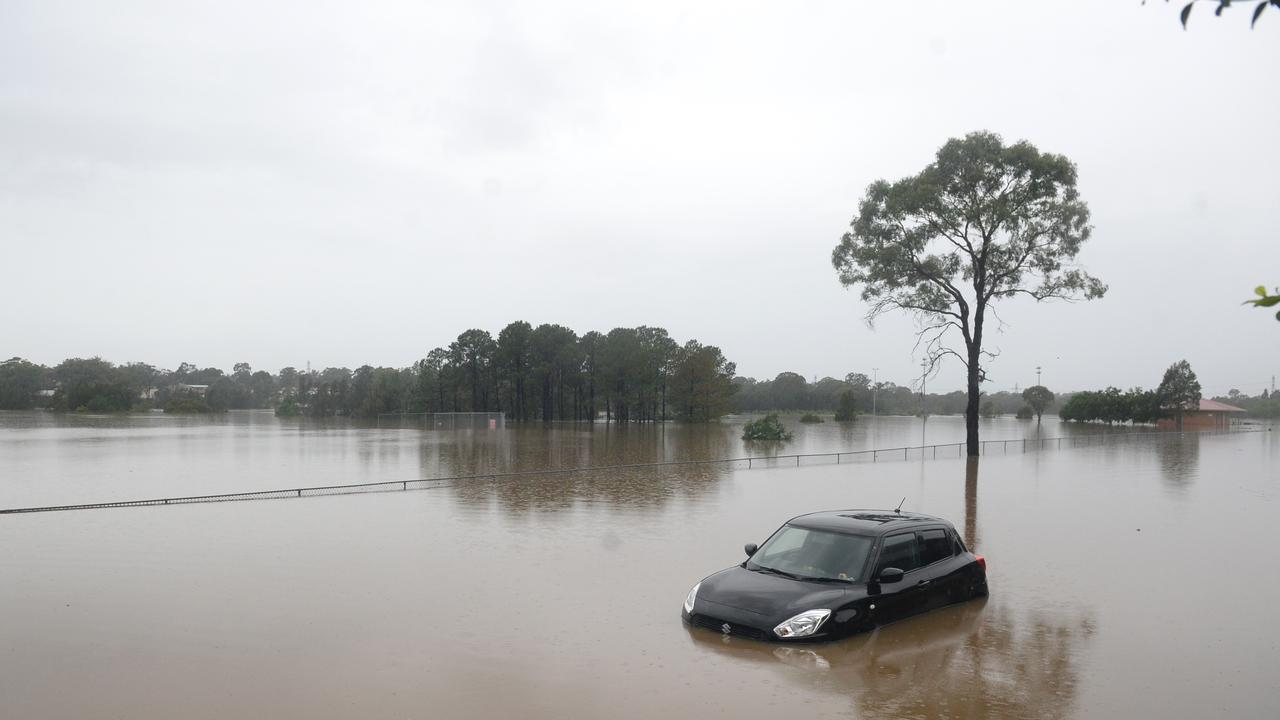 Dozens of NSW localities have been declared disaster areas due to the ongoing floods, unlocking the possibility for residents to apply for government funds. Picture: NCA NewsWire / Jeremy Piper