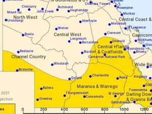Severe weather warning issued for parts of CQ