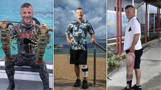 'Not quitting': Shark attack survivor returns to the water