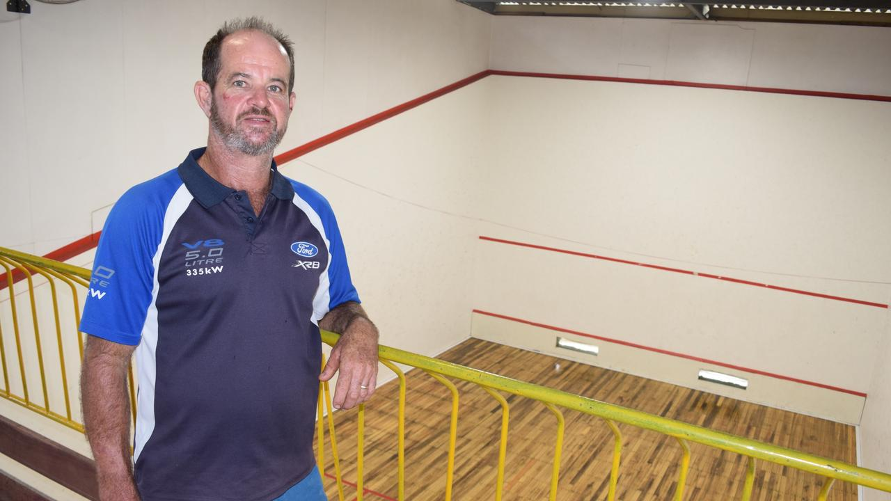Stephen Miller spent a year working hard to transfer a dilapidated, cyclone-ravaged building into Proserpine Health N Fitness on Chapman St. Photo: Elyse Wurm