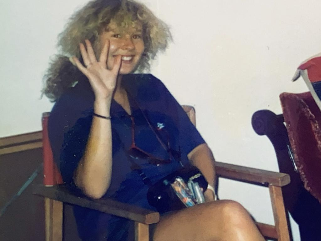 Katrine Tully in 1990 when she was a student at Sydney University.