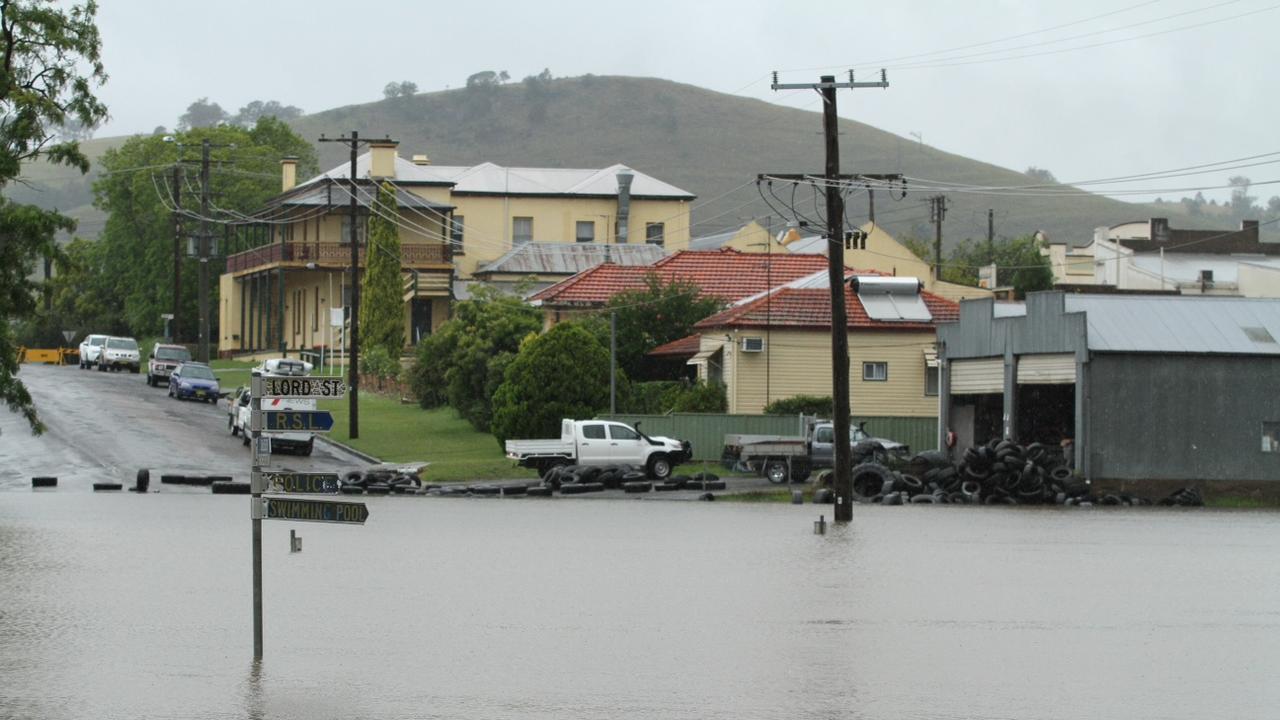 The Dungog floods killed three people.