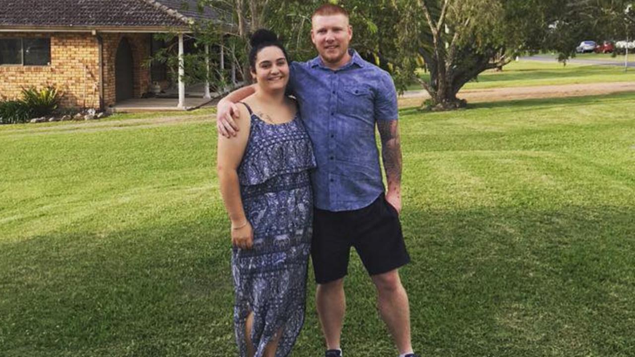 Sarah Soars, 24, with her fiance Joshua Edge, 26