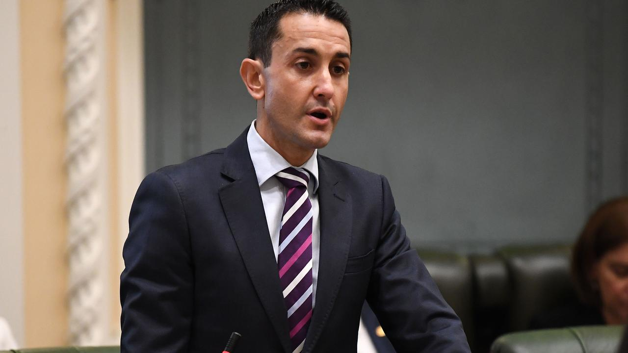 """LNP leader David Crisafulli says it is important that the LNP becomes a """"diverse political movement"""". Picture: Dan Peled"""