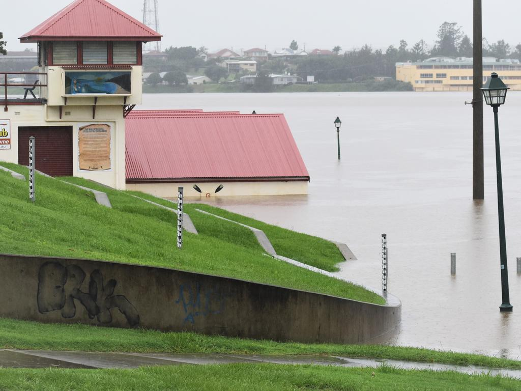 The Clarence River had exceeded minor flood levels at Grafton at 9.30am on Tuesday, 23rd March, 2020.