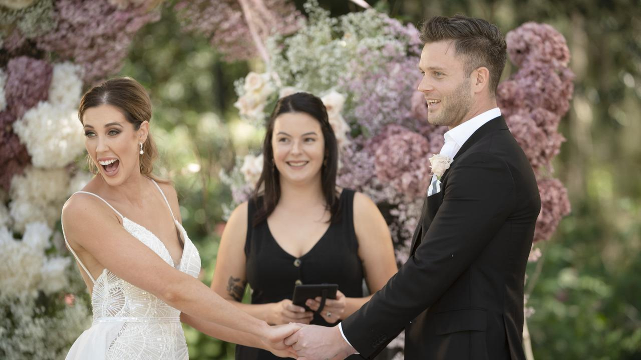 Married At First Sight acts as a warning of what not to do at home. Photo: Channel 9