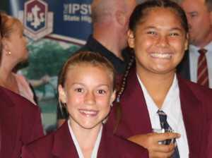 AFLQ Schools Footy: Ipswich SHS girls making mark
