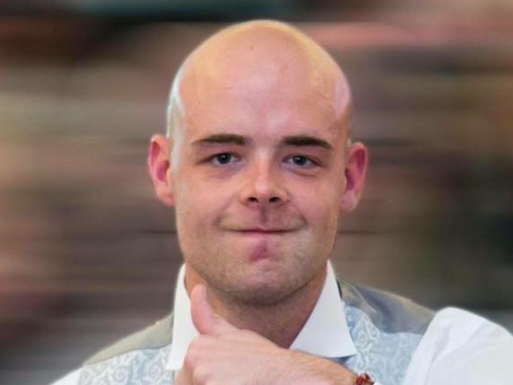 Tom Jackson, who died while defending another backpacker in the horrific Home Hill Hostel knife attack in 2016. The British national has been honoured posthumously for his bravery.