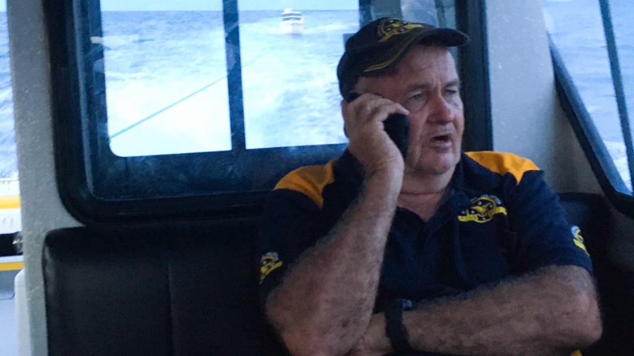 Skipper Barry Semple returning from Johnson Patch. Picture: Contributed