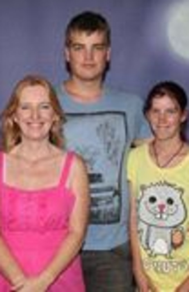 Jonathan (centre) and Erin's (right) deaths were initially ruled as suicides until police charged Maree Crabtree (left) with their murders in 2018.