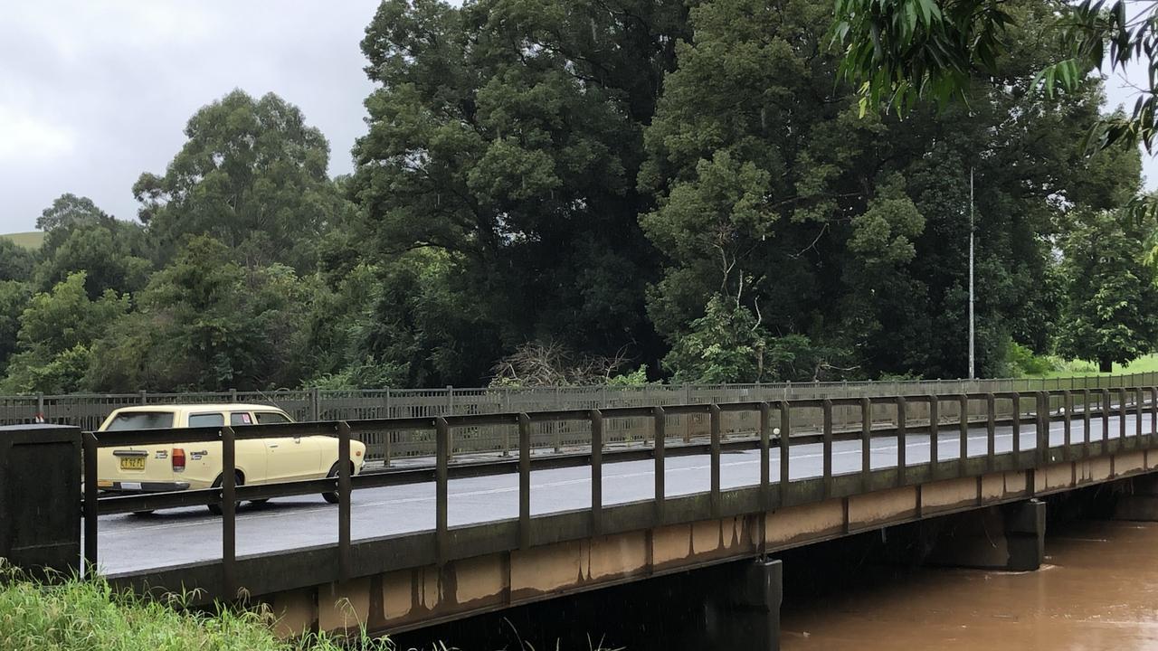 The Wilsons River, Lismore, near Simes Bridge.