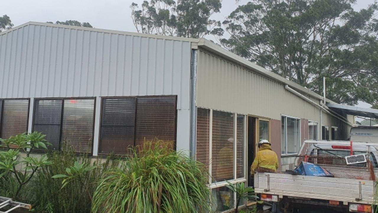 FLAT FIRE: Four crews from RFS Tweed Coast and Cudgen brigades successfully contained a fire at a property at Reserve Creek Road, Cudgera Creek on Tuesday March 23, 2021.