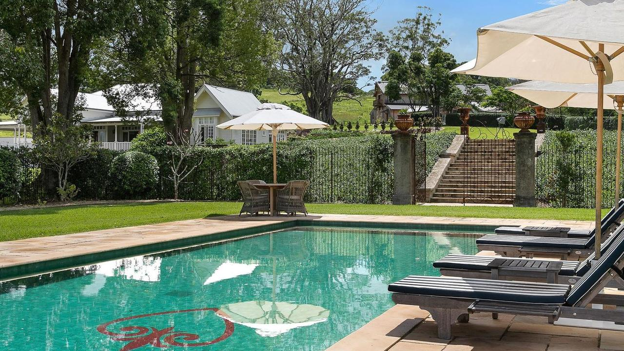 The property features a European-style pool.