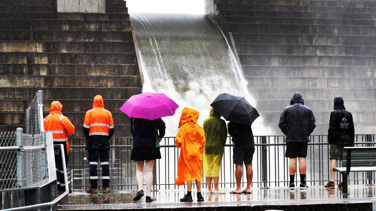 The Hinze Dam. Picture: NIGEL HALLETT