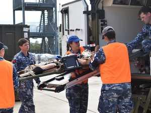 RAAF personnel put lifesaving skills to the test