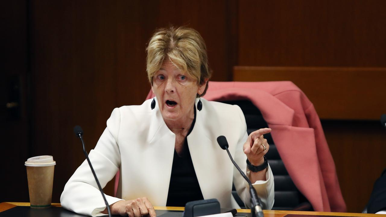 NSW MP Catherine Cusack gave the Prime Minister a piece of her mind. Picture: Richard Dobson