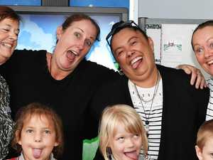 Funny faces: Coast prep teachers let loose in gallery