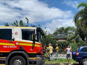 WATCH: Emergency services rush to North Mackay house fire