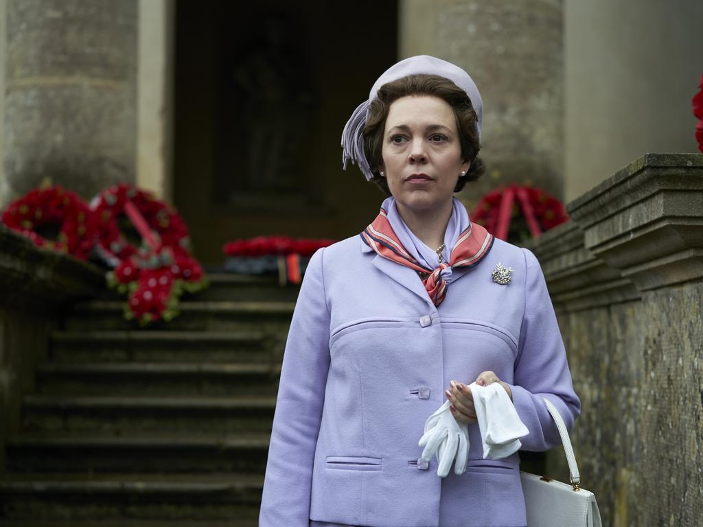 Olivia Colman as the Queen in The Crown.