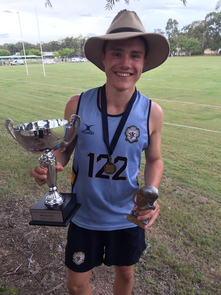 St John's College took out the Fraser Coast Anglican College's annual sevens rugby comp on the weekend with student Jack Goudge named player of the carnival.