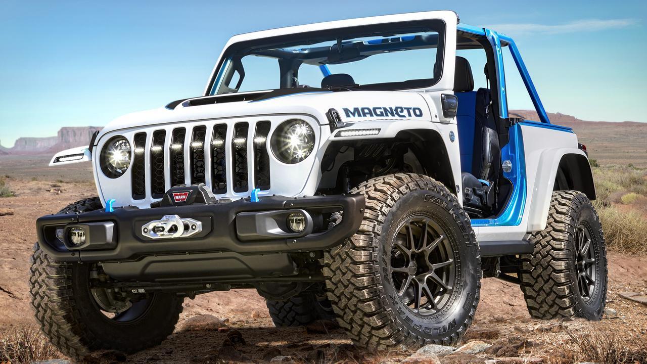 2021 Jeep Magneto concept.