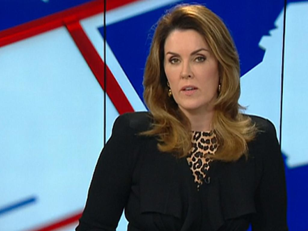 Peta Credlin made the accusations on her Sky News show. Picture: Sky News
