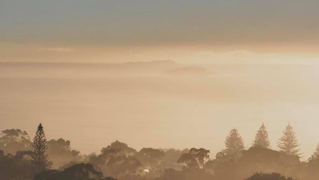 Evol Coutman captured mist over Korora.