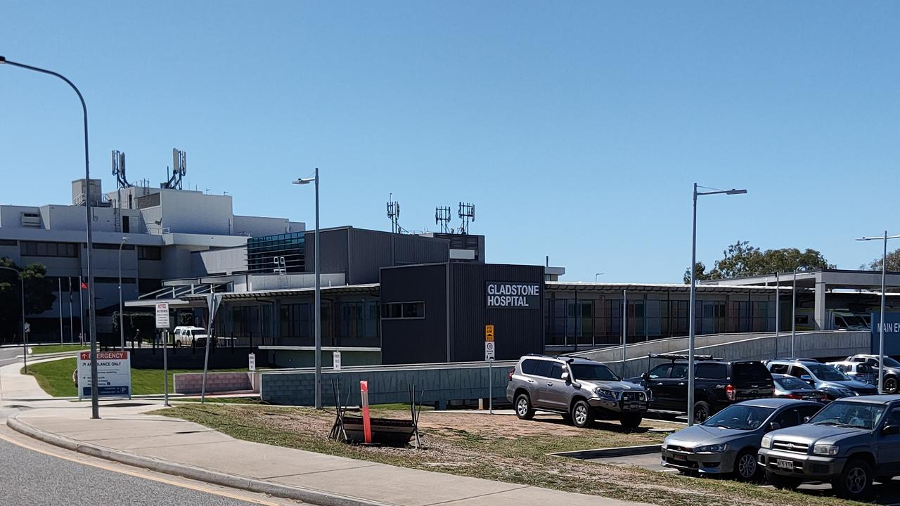 Gladstone Hospital has seen an increase in ramping to 14 per cent and the number of patients not being seen in the recommended time frame to 25.7 per cent, compared to the same period in 2019. Picture Rodney Stevens
