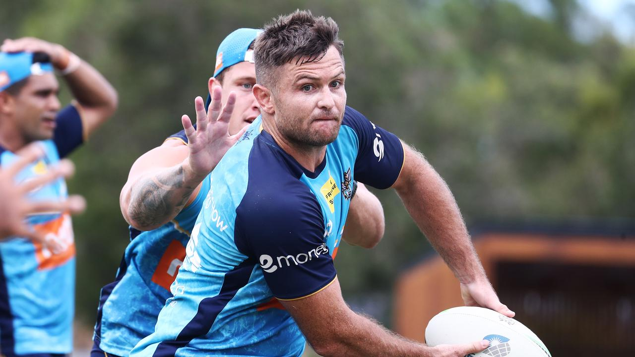 Titans hooker Mitch Rein has started the season well. Picture: Jason O'Brien