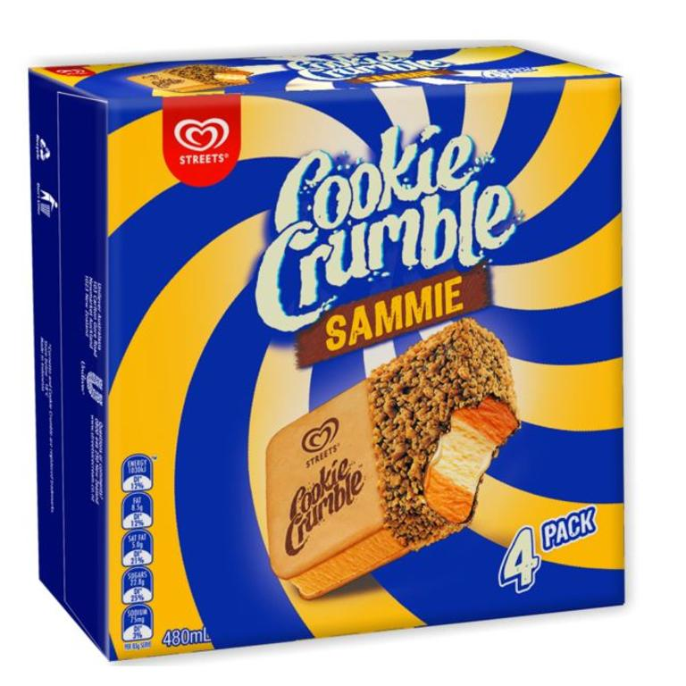 In New Zealand, Gaytimes are called Cookie Crumble. Picture: Supplied