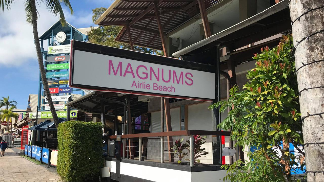 A Cannonvale man has faced court for assaulting a security guard at Magnums. Photo: Elyse Wurm