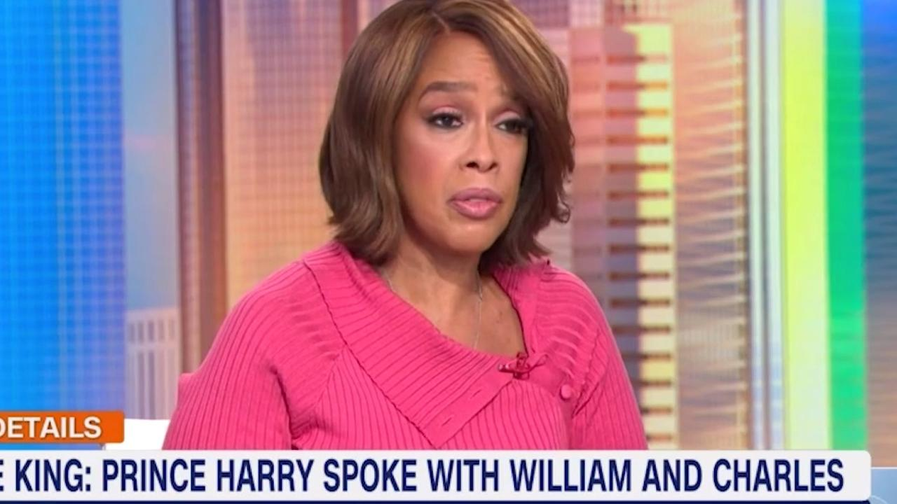 Gayle King revealed Prince Harry had spoken to his father and brother after the Oprah chat – adding that the conversation did not go so well. Picture: CBS