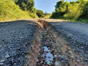 VIDEO: Just how bad is 'desperate bit of road'?