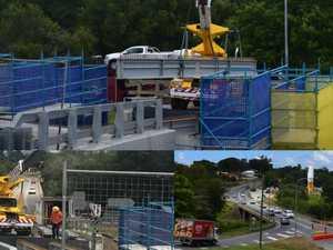 Normanby Bridge project on track despite torrential rain