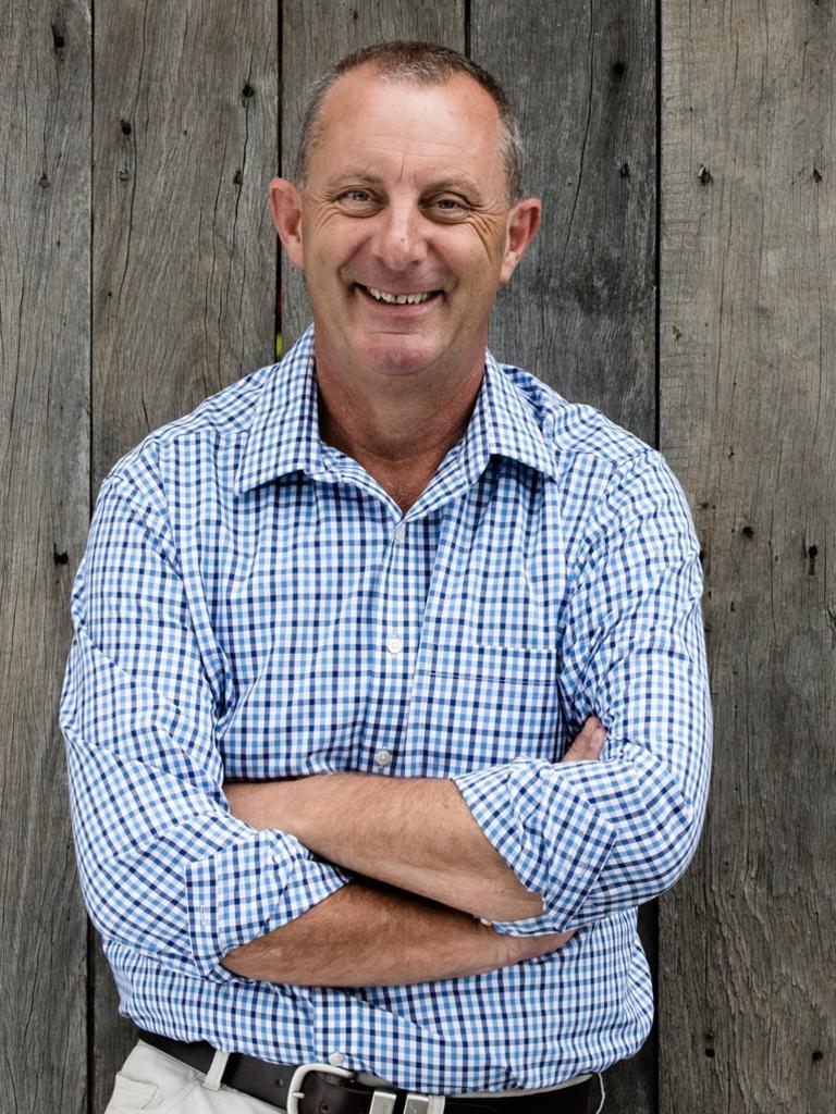 Upper Hunter Nationals MP Michael Johnsen.