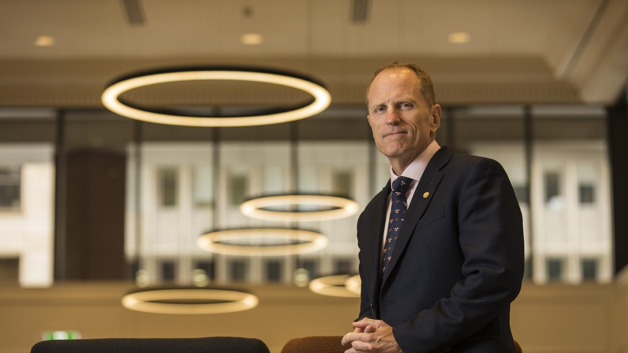 Andrew McConville, CEO of APPEA pictured at his offices in Perth. Photo Ross Swanborough.