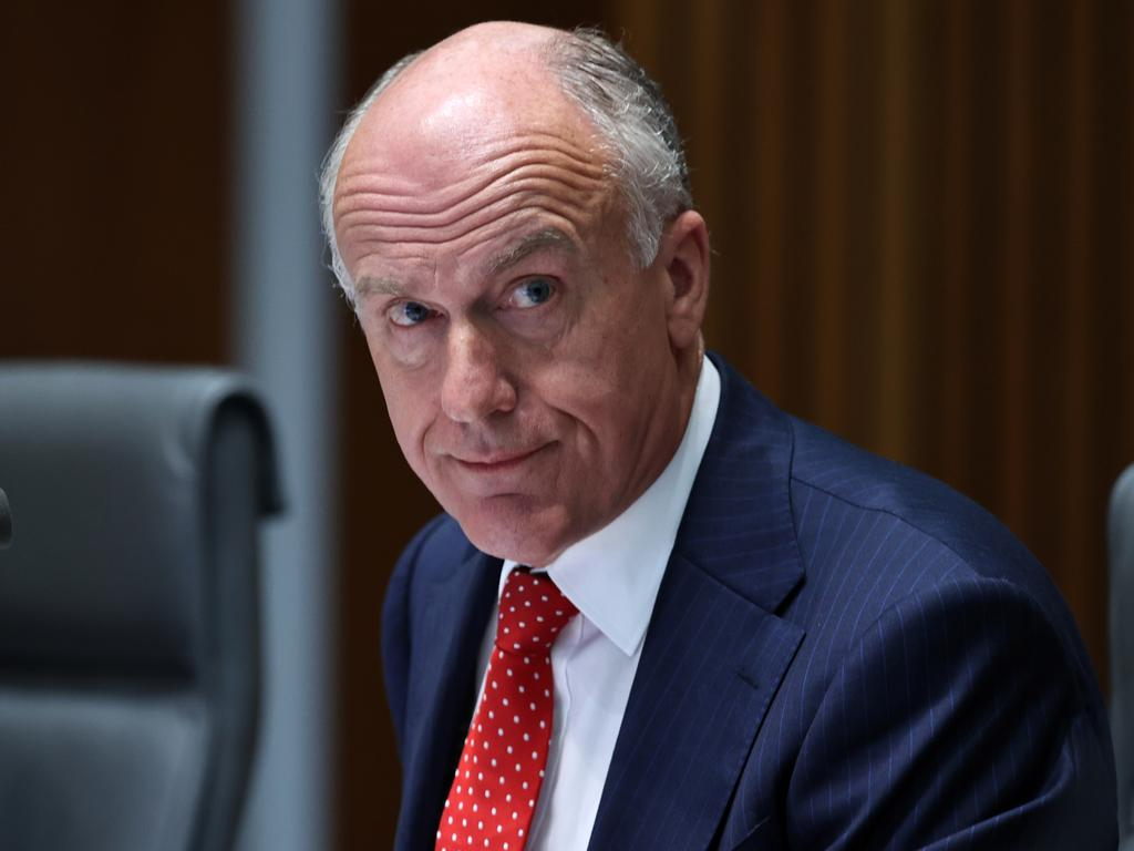 Senator Eric Abetz has denied the claim. Picture: NCA NewsWire / Gary Ramage
