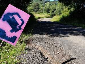 PHOTOS: 'Desperate bit of road' is really bad