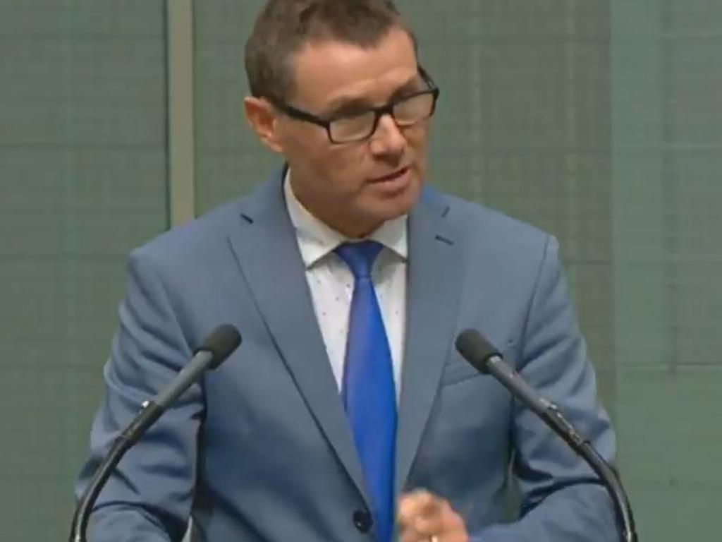 The Queensland MP Andrew Laming was forced to issued an unreserved apology in parliament.