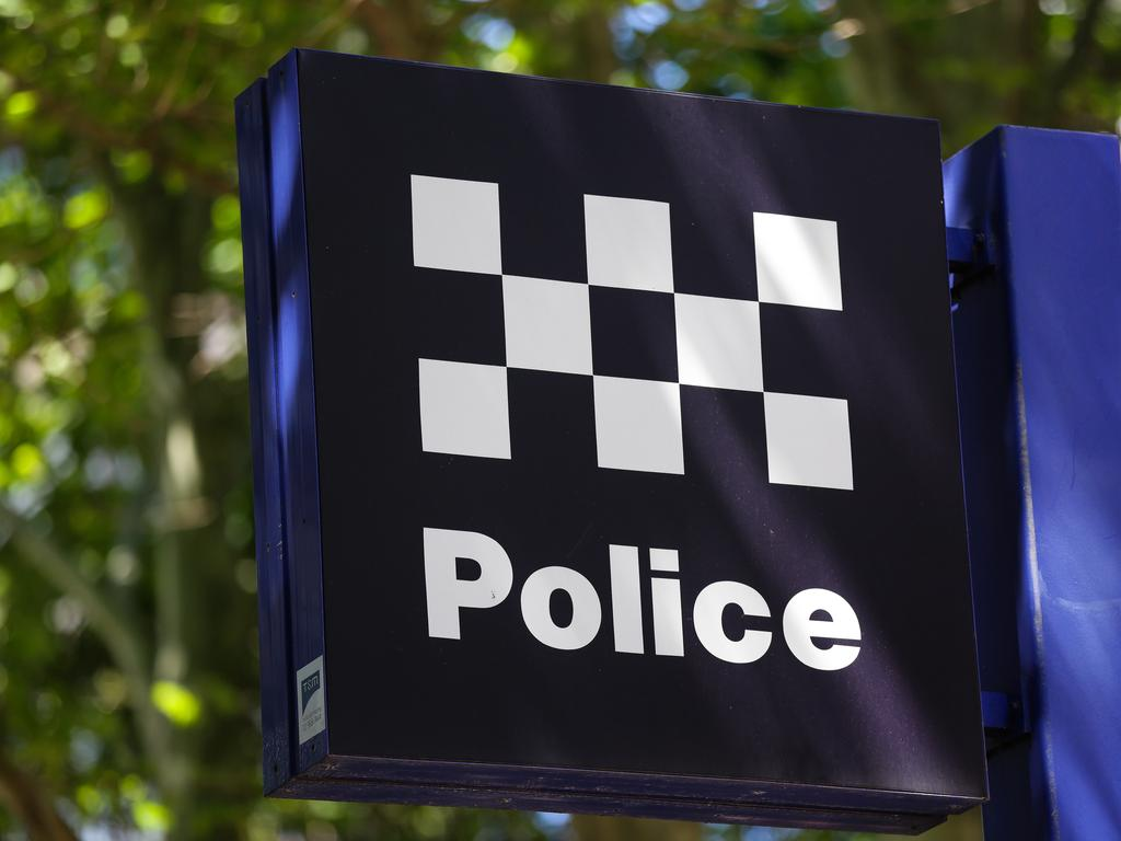 SYDNEY, AUSTRALIA , NSW Police Force general generic stock GV breaking news police tape image at the Headquarters in Surry Hills, Sydney Australia. Picture: NCA Newswire / Gaye Gerard