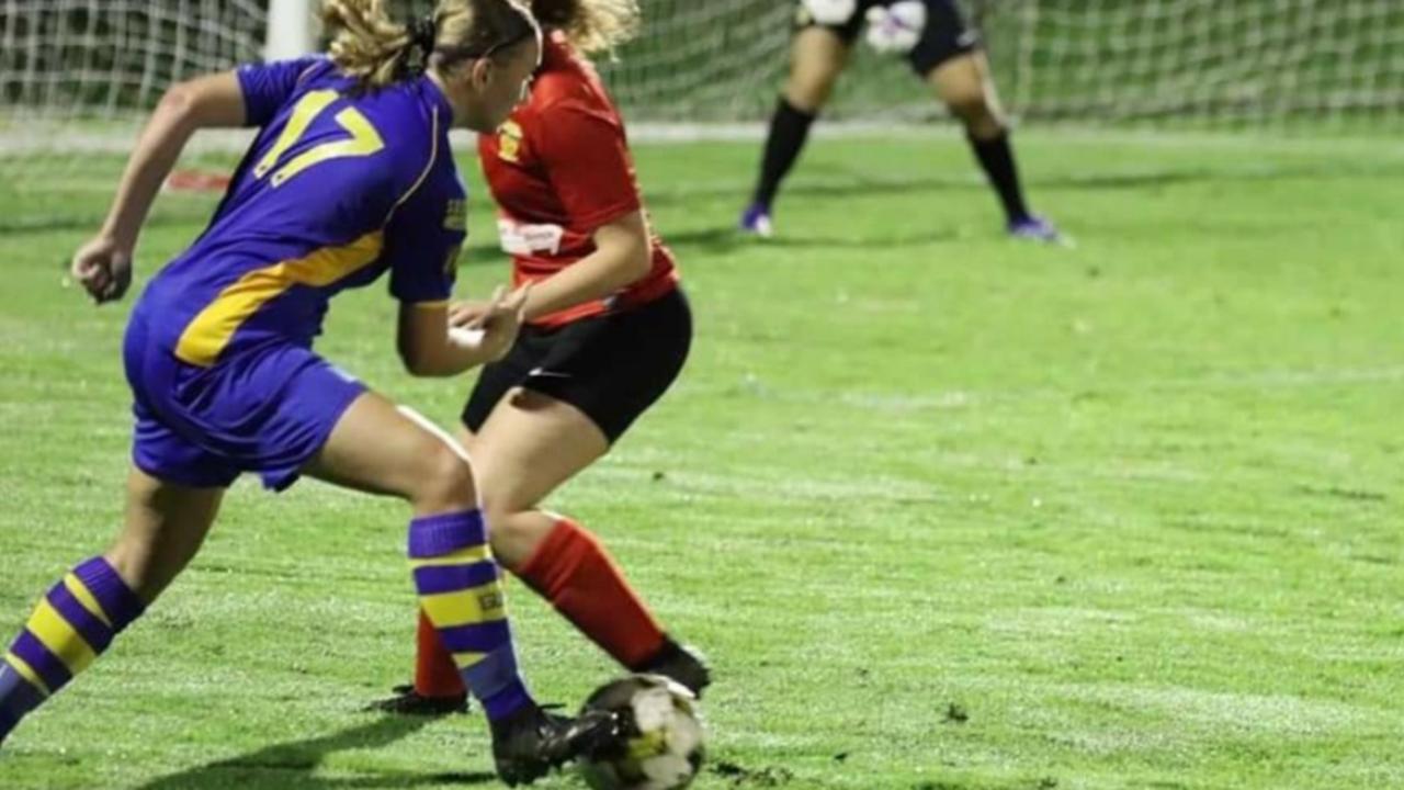 Gympie premier women's player Jess Wessels