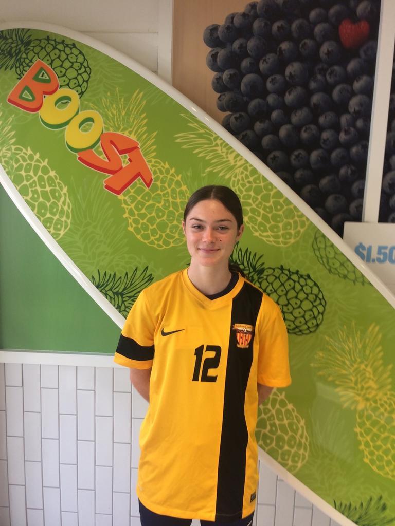 Sunshine Coast Fire premier women's player Ashlee Hummels