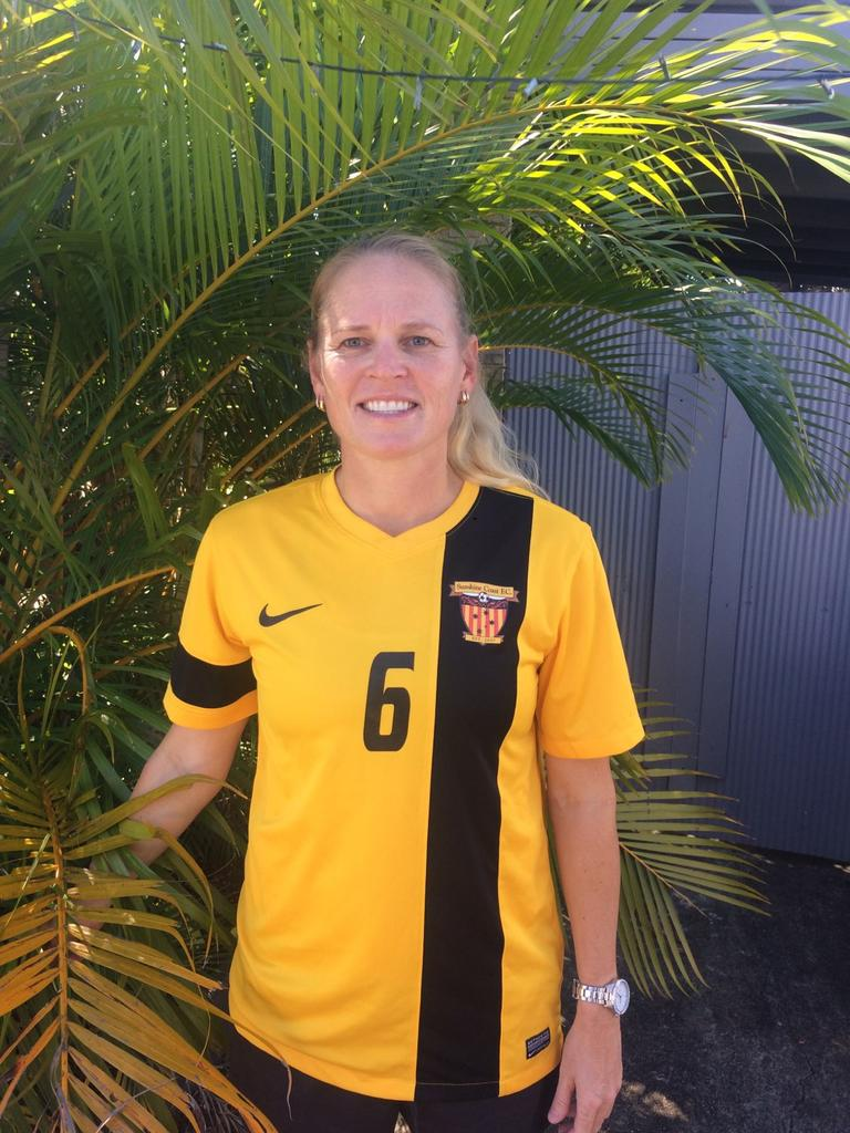 Sunshine Coast Fire premier women's player Olivia Latimer